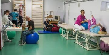 Átadták a Szigetvári Kórház korszerűsített rehabilitációs osztályát - Fotó: MTI - Sóki Tamás